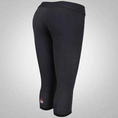 Calça Capri Reebok CrossFit Reversible Cha - Feminina