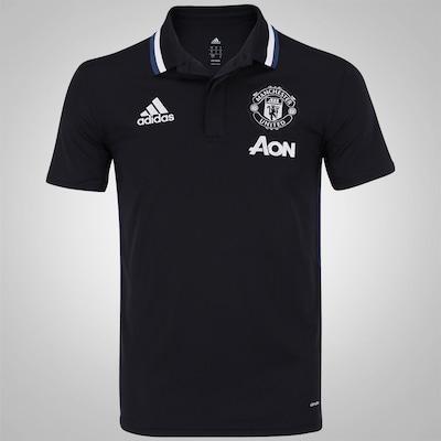 Camisa Polo Manchester United Viagem adidas - Masculina