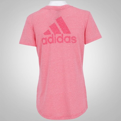 Camiseta adidas Logo V - Feminina