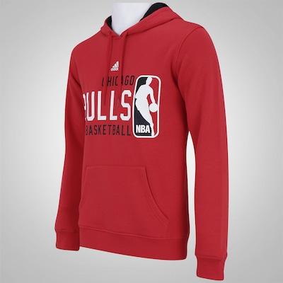 Blusão com Capuz adidas Chicago Bulls NBA FW16 - Masculino