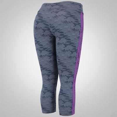 Calça Corsário com Proteção Solar adidas Gráfica WKT - Feminina