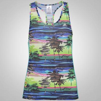 Camiseta Regata com Proteção Solar adidas LW Wolk G2 Salinas - Feminina