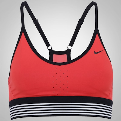 Top Fitness com Bojo Nike Pro Indy Cool - Adulto
