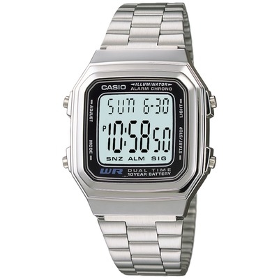 Relógio Digital Casio Vintage A178WA - Masculino