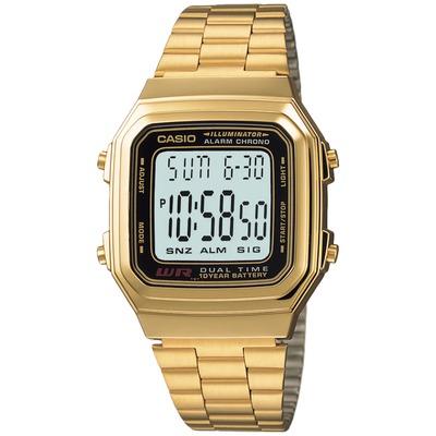 Relógio Digital Casio Vintage A178WGA - Masculino
