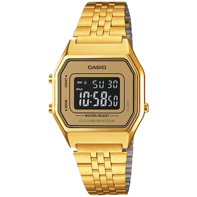 Relógio Digital Casio Vintage LA680WGA - Unissex
