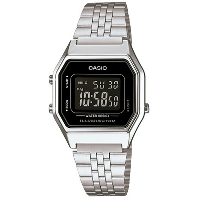 Relógio Digital Casio Vintage LA680WA - Masculino
