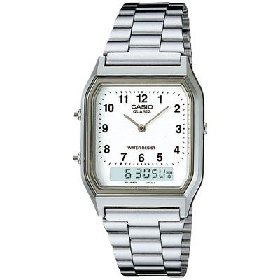 Relógio Digital Analógico Casio Vintage AQ230A - Masculino