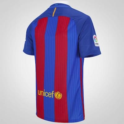 Camisa Barcelona I 16/17 Nike - Masculina