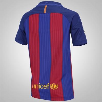 Camisa Barcelona I 16/17 Nike - Infantil