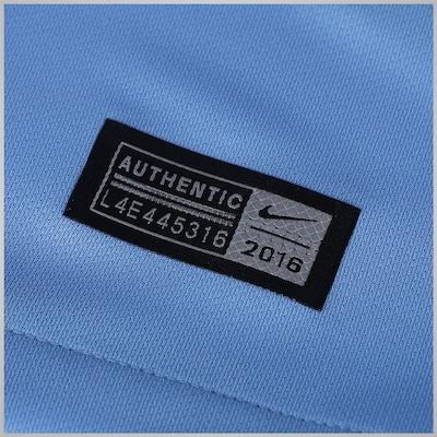 Camisa Manchester City I 16/17 Nike - Masculina