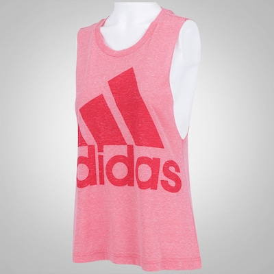 Camiseta Regata adidas Logo Sleeveless - Feminina
