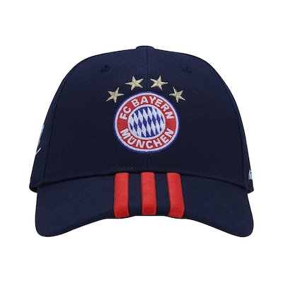 Boné adidas Bayern de Munique 3S - Strapback - Adulto