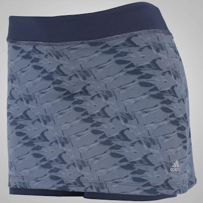 Short Saia com Proteção Solar adidas Skort Grafica WKT 3S - Feminino