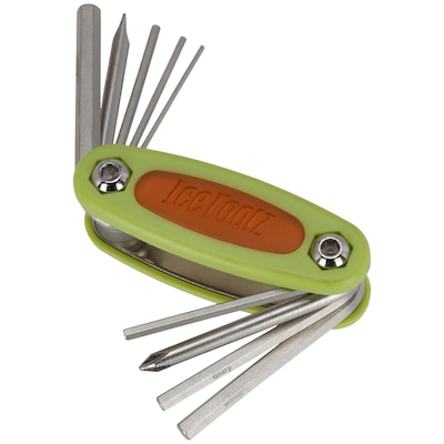 Canivete de Chaves IceToolz de 9 Funções com Chave de Fenda, Allen e Phillips