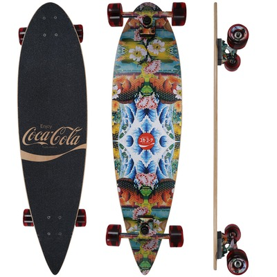 Longboard Pintail Coca-Cola Kaleidoscope