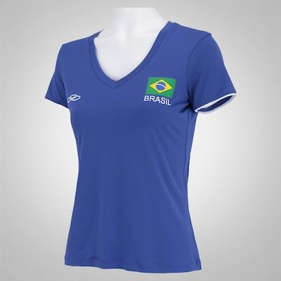 Camiseta do Brasil Olympikus Especial 2016 - Feminina
