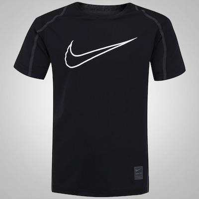 Camiseta Nike Cool HBR FTTD SS YT - Infantil