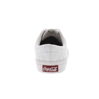 Tênis Coca-Cola Kick Matelassê - Feminino