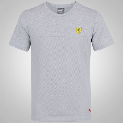 Camiseta Puma Scuderia Ferrari Basic - Masculina