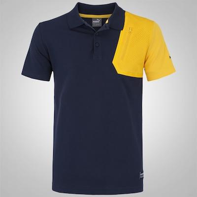 Camisa Polo Puma IRBR LS - Masculina