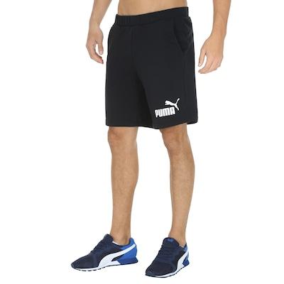 Bermuda Puma Ess Logo Sweat - Masculina