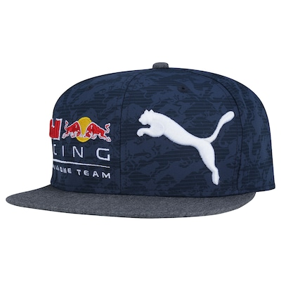 Boné Aba Reta Puma Red Bull Racing New Block - Snapback - Adulto