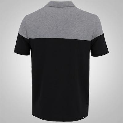 Camisa Polo Puma Alpha Block - Masculina
