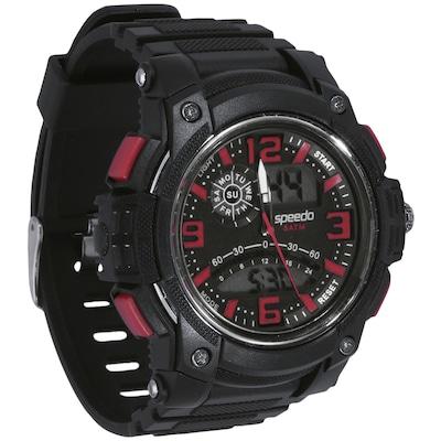Relógio Analógico Digital Speedo 81085G0 com Mini Massageador - Masculino