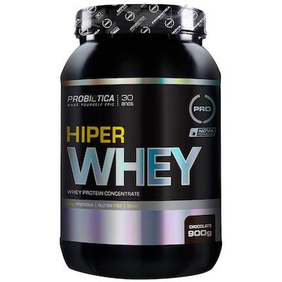 Whey Protein Concentrado Probiótica Hiper Whey - Chocolate - 900g