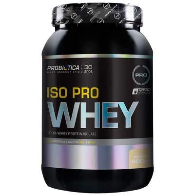 Whey Protein Isolado Probiótica Iso Pro Whey - Baunilha - 900g