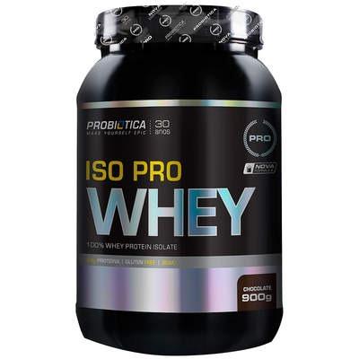 Whey Protein Isolado Probiótica Iso Pro Whey - Chocolate - 900g