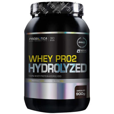 Whey Protein Probiótica Whey Pro2 Hydrolized - Chocolate - 900g