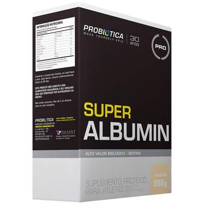 Albumina Probiótica Super Albumin - Baunilha - 500g