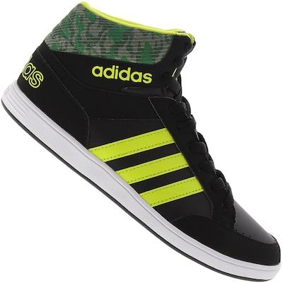 Tênis adidas Neo Hoops Mid - Infantil