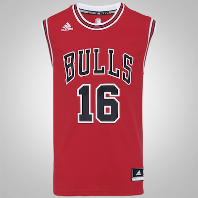 Camiseta Chicago Bulls Road adidas NBA - Masculina
