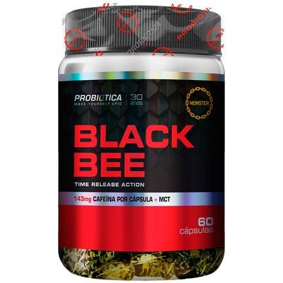 Termogênico Probiotica Black Bee - 60 Cápsulas