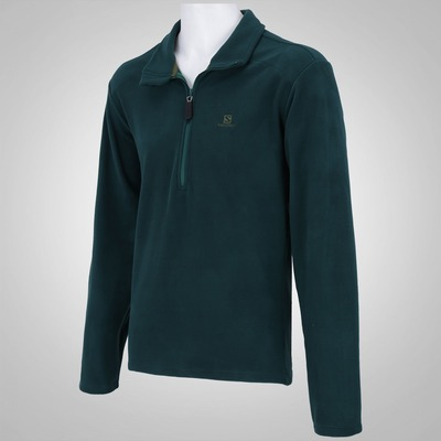 Blusão Salomon Fleece Polar 1/2 Zip - Masculino