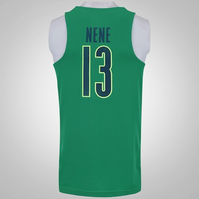 Camisa Regata do Brasil Nike Basquete Rio de Janeiro - Nene - Masculina
