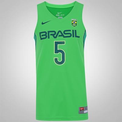 Camisa Regata do Brasil Nike Basquete Rio de Janeiro - Neto - Masculina
