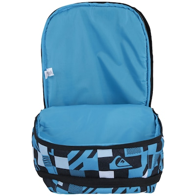 Mochila Quiksilver Roller Check Red Hawaiian