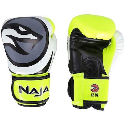 Luvas de Boxe Naja Colors Flúor - 12 OZ - Adulto