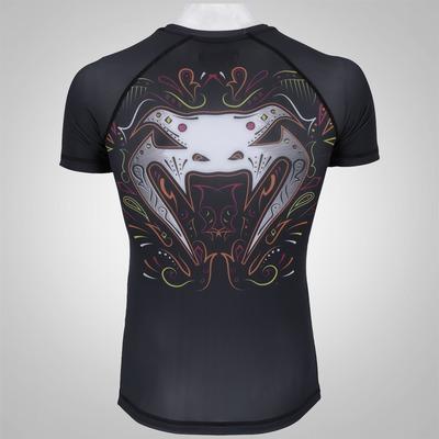Camiseta Rash Guard de Lycra Venum Santa Muerte 2.0 - Masculina
