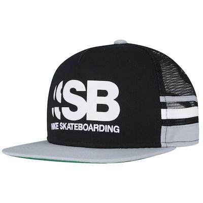 Boné Aba Reta Nike SB Cut - Trucker - Snapback - Adulto