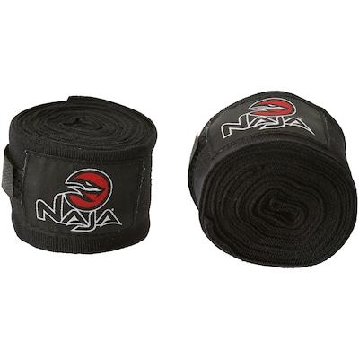 Kit de Boxe Naja: Bandagem + Protetor Bucal + Luvas de Boxe Colors - 12 OZ - Adulto