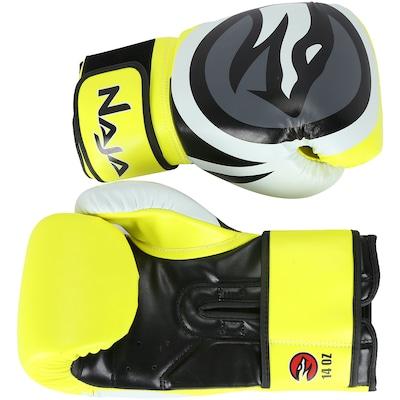 Kit de Boxe Naja: Bandagem + Protetor Bucal + Luvas de Boxe Colors - 14 OZ - Adulto