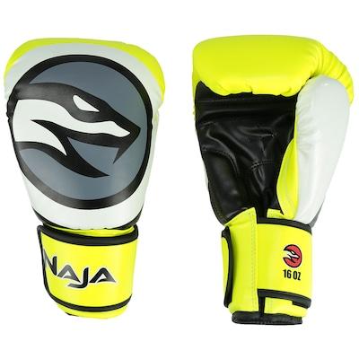 Kit de Boxe Naja: Bandagem + Protetor Bucal + Luvas de Boxe Colors - 16 OZ - Adulto