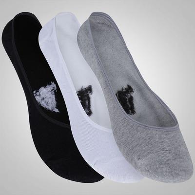 Kit de Meia Sapatilha adidas No Show com 3 Pares - Masculino