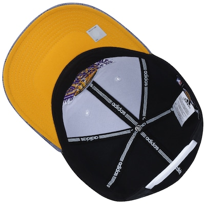 Boné Aba Curva adidas NBA Los Angeles Lakers - Snapback - Adulto