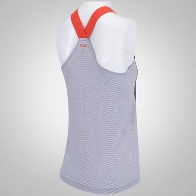 Camiseta Regata Fila Elástico - Feminina